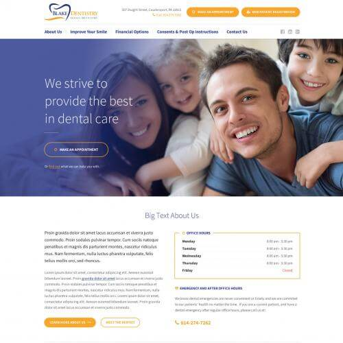 Coudersport Web Design