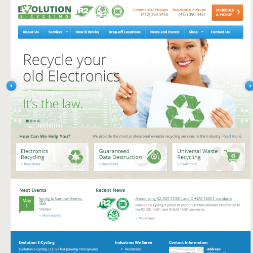 Evolution E-Cycling Pittsburgh
