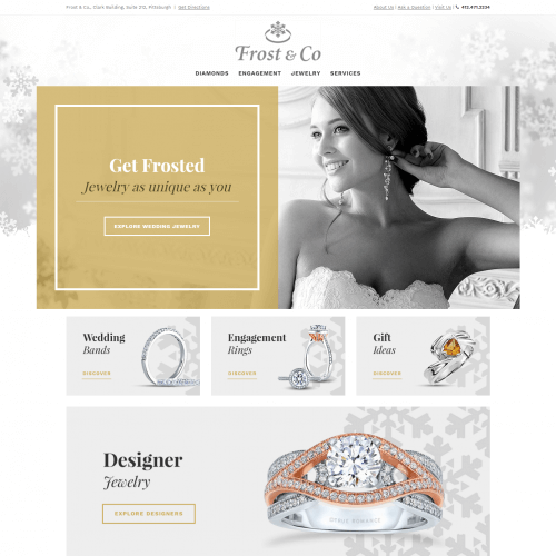 Pittsburgh Jewelry Web Design