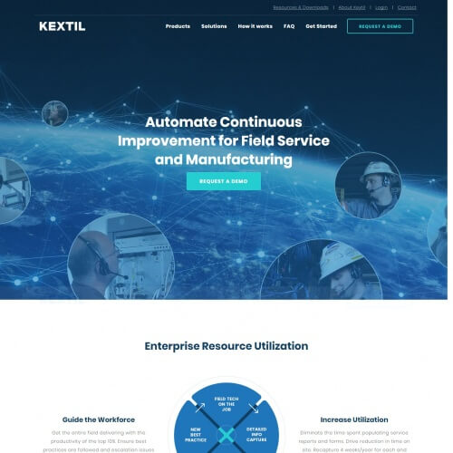 Kextil Custom Web Design in Pittsburgh